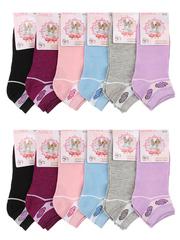 351 носки женские 36-42 (12шт), цветные