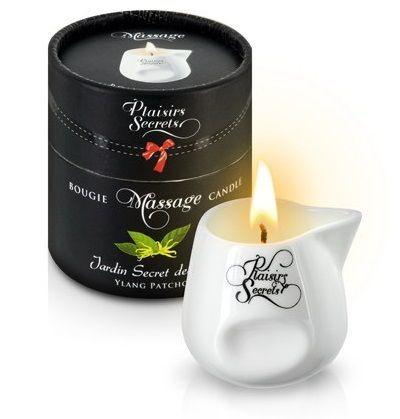 Массажные масла и свечи: Массажная свеча с ароматом иланг-иланга и пачули Jardin Secret Des Iles Ylang/pat - 80 мл.