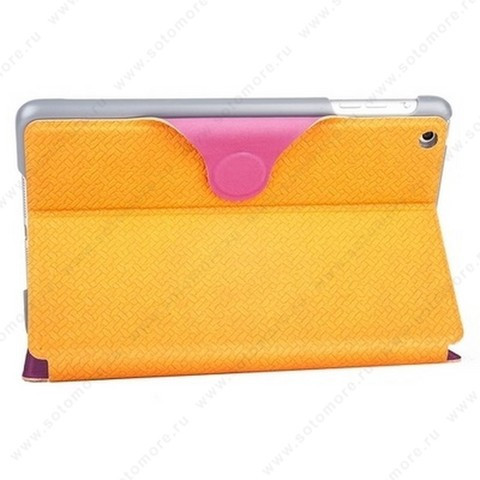 Чехол-книжка Yoobao для Apple iPad mini 1 - Yoobao iFashion Leather Case Orange