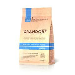 Grandorf Adult Sensitive White Fish&Potato для взрослых кошек с чувствительной кожей или склонных к аллергиям белая рыба с бататом