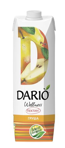 Нектар DARIO Wellness Грушевый 1л