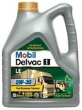 Mobil Delvac 1 LE 5W-30 синтетическое моторное масло