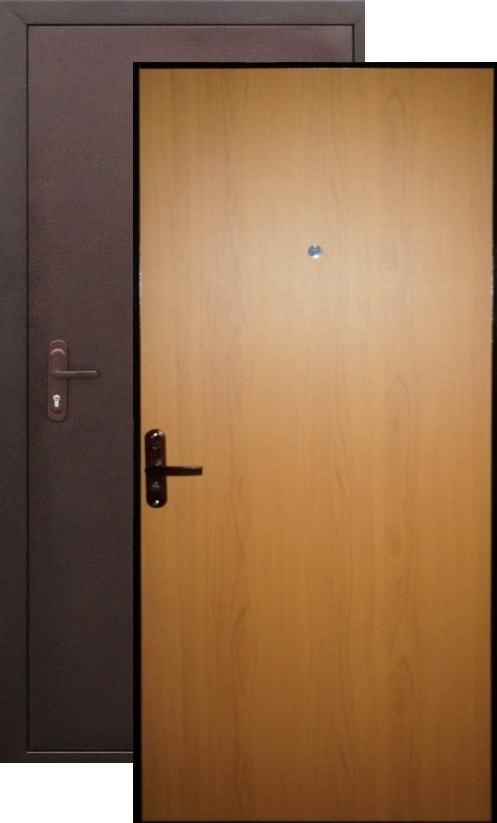 дверь двойная металлическая эконом