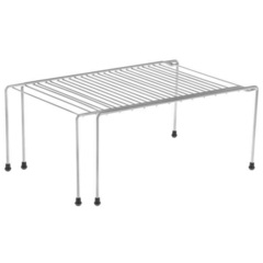 Полка раздвижная для шкафа, 36-62х22х15 см, хром
