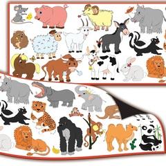 Магнитный набор: Животные