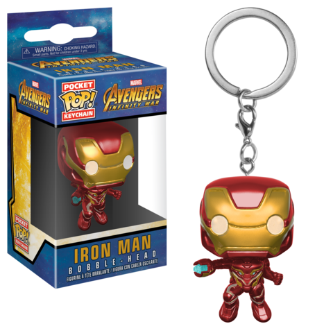 Брелок Funko Pocket POP! Keychain: Marvel: Avengers Infinity War: Iron Man 27303-PDQ
