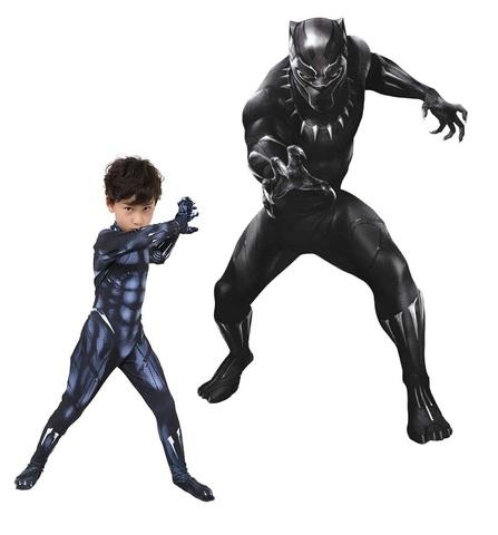 Черная Пантера костюм детский