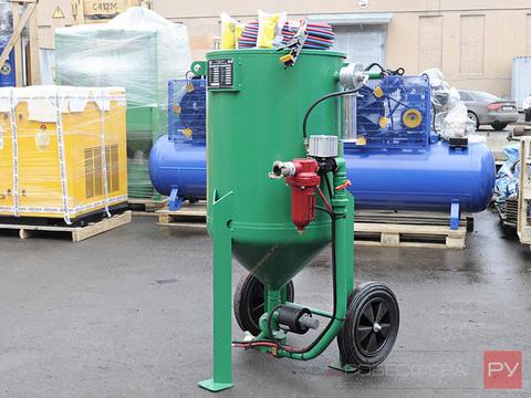Абразивоструйная установка DSG®-200 литров с дистанционным управлением