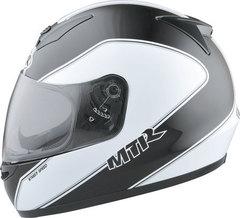 Мотошлем - MTR S-7 (черно-белый)
