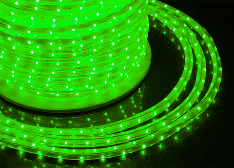 Лента LED лед дюралайт светодиодная зеленый