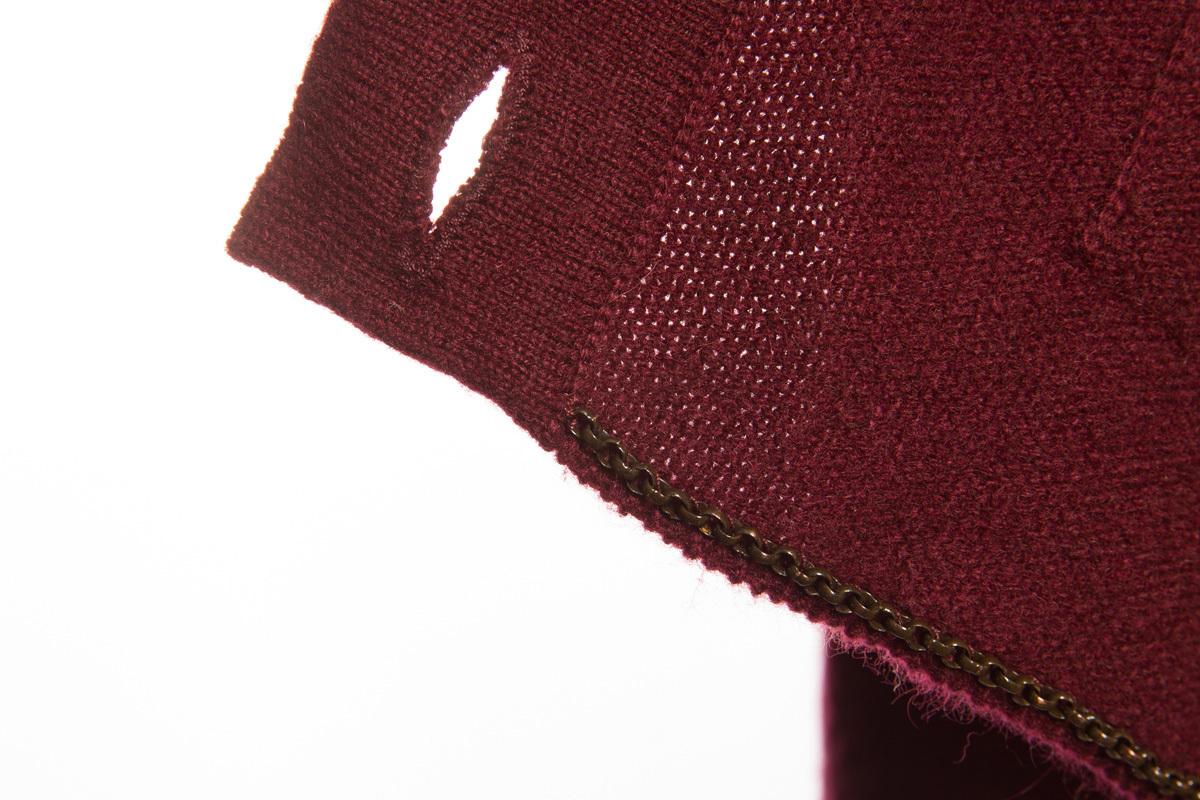 Классический кашемировый полувер от Chanel, 36 размер