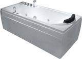 Гидромассажная ванна Gemy G9006-1.7 B L 172х77