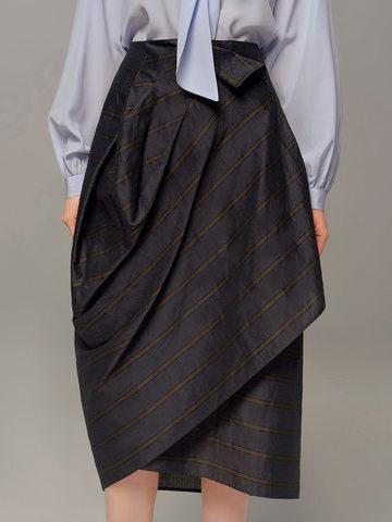 Женская темно-синяя юбка Olmar GentryPortofino - фото 2