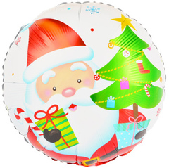 К Круг, Дед Мороз с подарками,18''/46 см