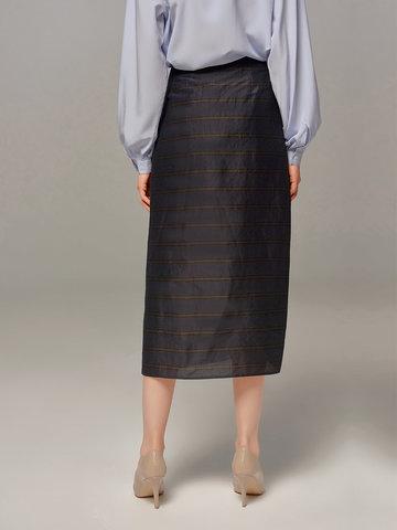 Женская темно-синяя юбка Olmar GentryPortofino - фото 4