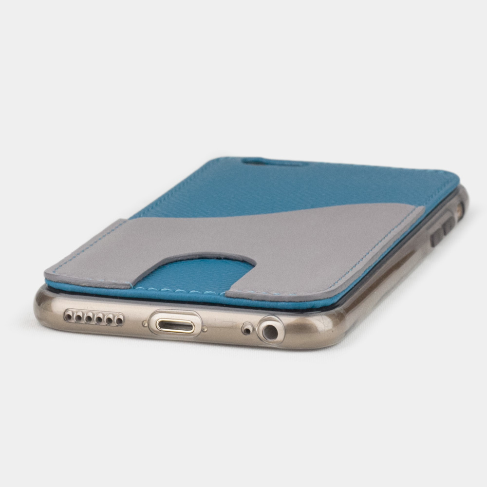 Чехол-накладка Andre для iPhone 6/6S из натуральной кожи теленка, морского цвета