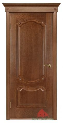 Дверь Двери Белоруссии Престиж ПГ, цвет каштан, глухая