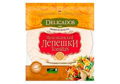 Мексиканские лепешки оригинальные Delicados, 6шт