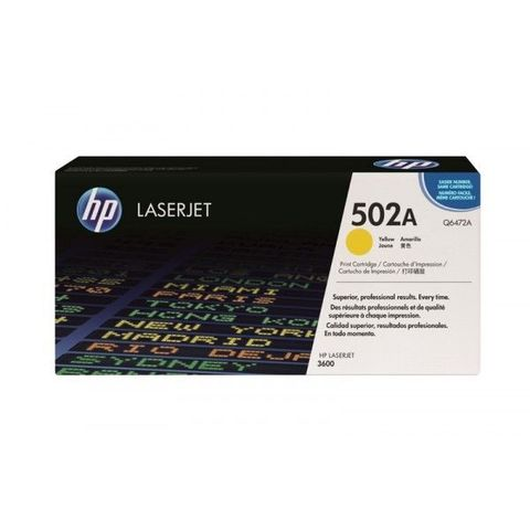 Картридж HP Q6472A yellow - тонер-картридж для HP Color LaserJet 3600dn, 3600n (желтый, 4000 стр.)