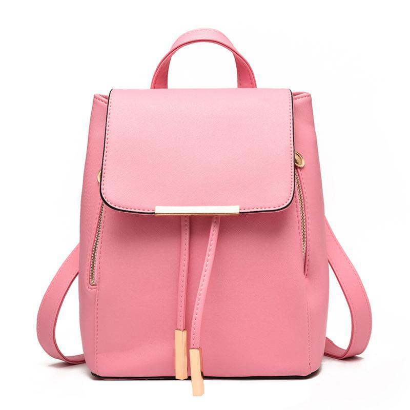 Женский средний рюкзак 24х29х15 см розовый 3588-5
