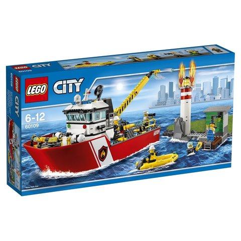 LEGO City: Пожарный катер 60109 — Fire Boat — Лего Сити Город