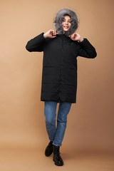 Куртка стеганая с капюшоном