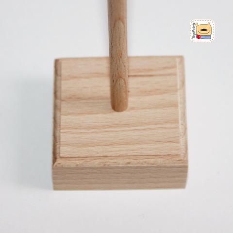 Деревянная подставка для кукол (tilda) купить