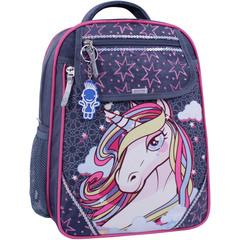 Рюкзак школьный Bagland Отличник 20 л. 321 серый 511 (0058070)
