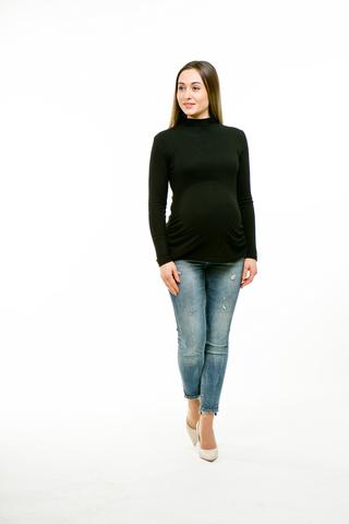 Водолазка для беременных 11289 черный