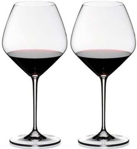 Набор фужеров для красного вина 4 шт 770 мл Riedel Heart to Heart Pinot Noir