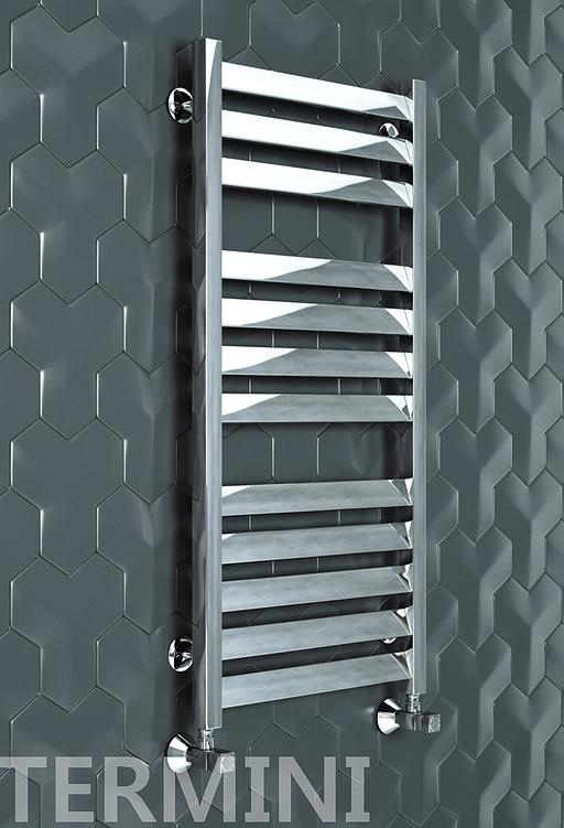 Termini - водяной дизайн полотенцесушитель с прямоугольными вертикалями