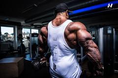 Мужская футболка Nebbia AW Muscle Singlet 723 white