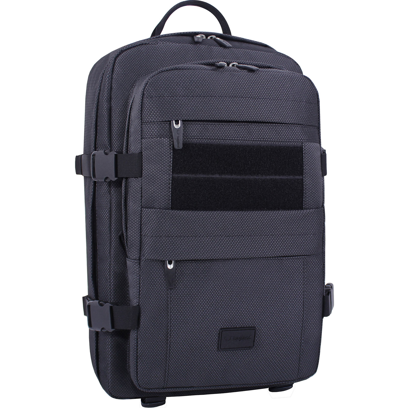 Рюкзаки для ноутбука Рюкзак для ноутбука Bagland Jasper 19 л. Чёрный (00155169) IMG_3183.JPG