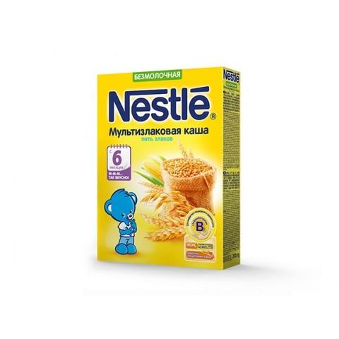 Nestlé® Безмолочная мультизлаковая каша 5 злаков