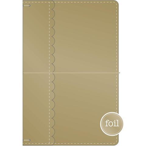 Блокнот (тревелбук) - Doodlebug Travel Planner - 14х23 см - Gold