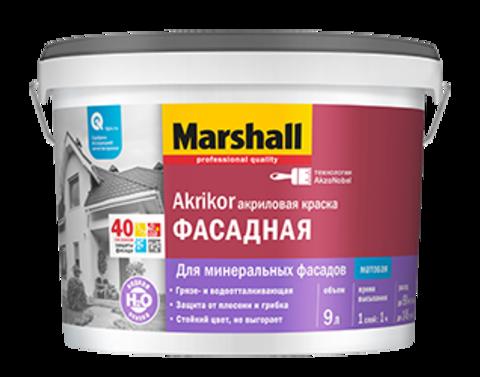 Marshall Akrikor Водная матовая краска для фасадов