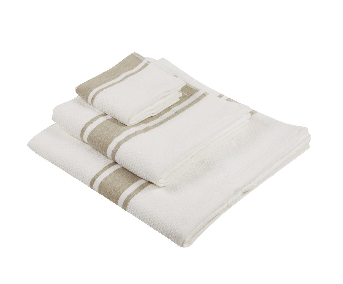 Набор полотенец 3 шт Luxberry Honey белый