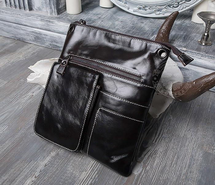 365f85810c32 BAG403-1 Мужская сумка из натуральной кожи с ремнем на плечо