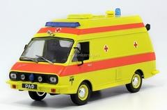 RAF-TAMRO Reanimation Ambulance USSR 1:43 DeAgostini Service Vehicle #53