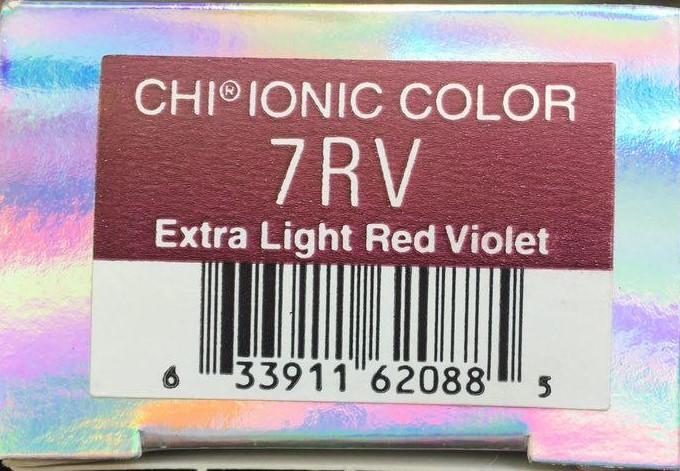 Крем-краска CHI Ионик 7 RV 85 гр