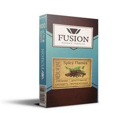 Табак Fusion Medium 100 г Spicy Flames
