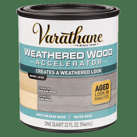 Varathane Weathered Wood Accelerator состав для искусственного состаривания древесины