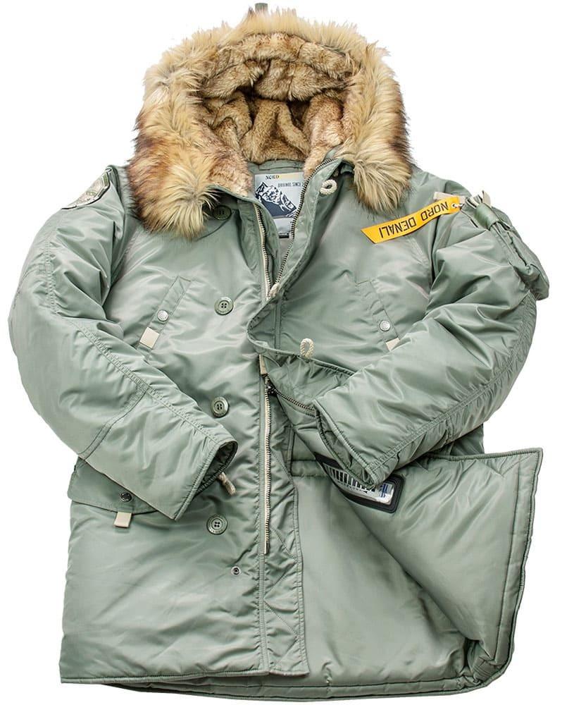 Куртка Аляска  Denali Husky Military (с. зеленая - supporo)