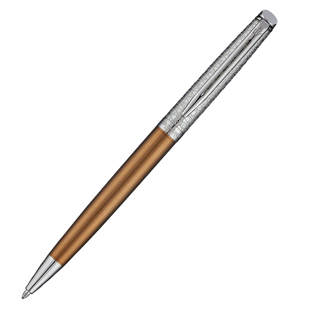 Waterman Hemisphere Deluxe Privee - Bronze CT, шариковая ручка, M