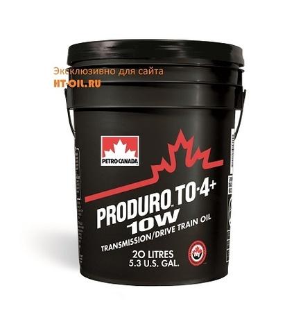 PD410WP20 трансмиссионное масло для внедорожной техники PRODURO TO-4+ 10W