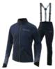 Женский разминочный лыжный костюм Nordski Premium NSW302770 темно-синий