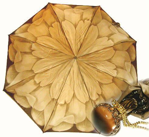 Зонт женский складной Pasotti 21065-40-T9 Golden Astra