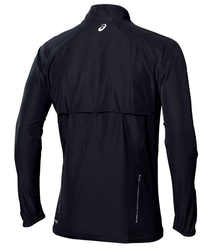 Мужская ветровка асикс Woven Jacket black (110411 0904)