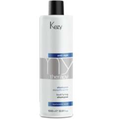 KEZY mytherapy anti-age hyaluronic acid Bodifying shampoo Шампунь для придания густоты истонченным волосам с гиалуроновой кислотой 250 мл.