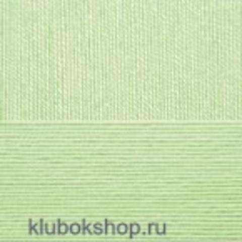 Пехорский текстиль Цветное кружево Зеленое яблоко 09